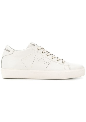 Leather Crown W-Iconic sneakers - White