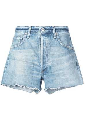 Citizens Of Humanity mid-rise denim shorts - Blue
