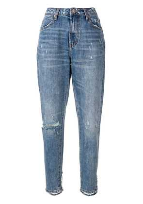 One Teaspoon distressed tapered jeans - Blue