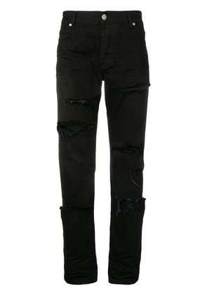Balmain ripped jeans - Black