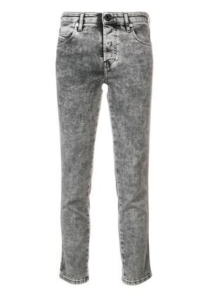 Diesel cropped super skinny jeans - Black