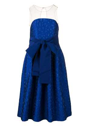 P.A.R.O.S.H. belted prom dress - Blue