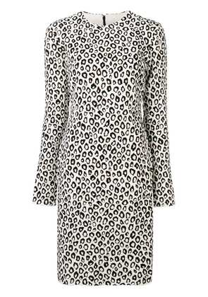 Givenchy leopard print dress - White