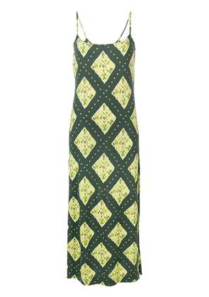 Marc Jacobs Ikat-print dress - Green