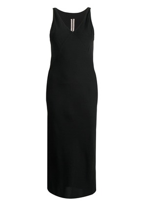 Rick Owens V-neck dress - Black