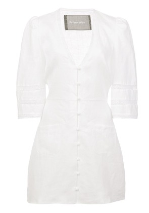Reformation Eloise dress - White