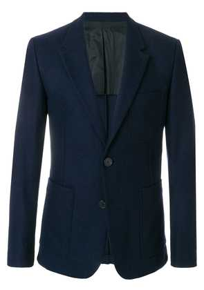 Ami Alexandre Mattiussi Half-Lined Two Buttons Jacket - Blue