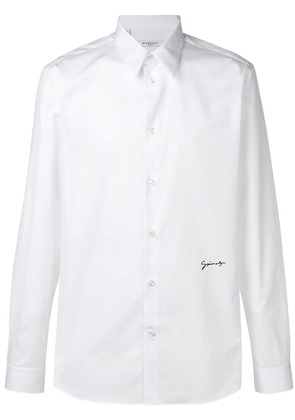 Givenchy signature slim fit shirt - White