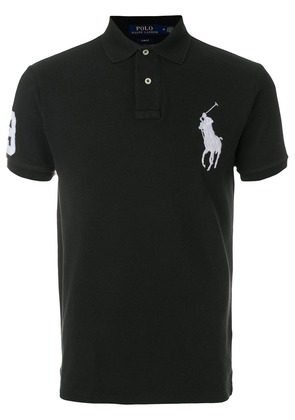 Polo Ralph Lauren embroidered logo polo shirt - Black