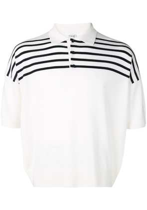 Loewe striped polo shirt - White