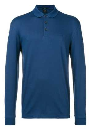 Boss Hugo Boss longsleeved polo shirt - Blue