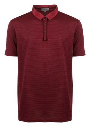 Lanvin striped polo shirt - Red