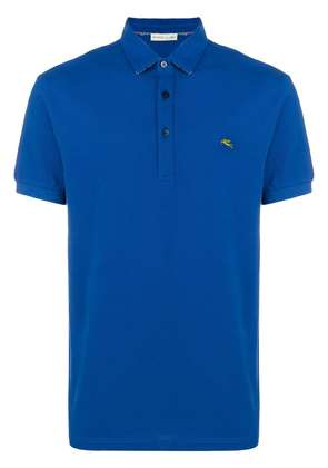 Etro logo polo shirt - Blue