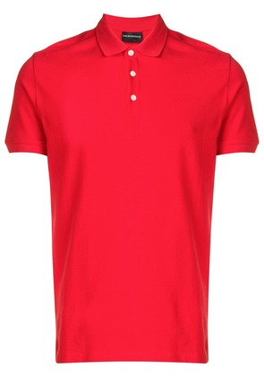 Emporio Armani classic polo shirt - Red