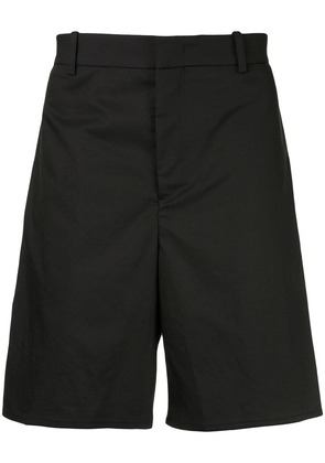 Wooyoungmi tailored fitted shorts - Black