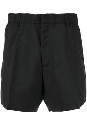 No21 tailored fitted shorts - Black