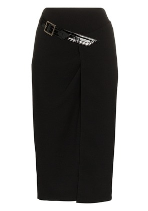 Givenchy sheath wool crepe pencil skirt - Black