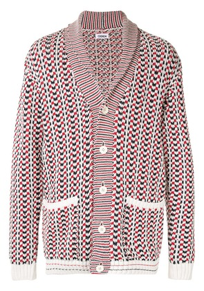 COOHEM Spring knitted cardigan - White