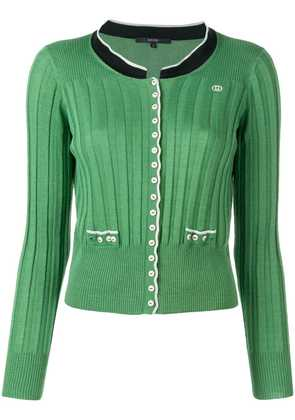 Gucci Vintage 2000's knitted cardigan - Green