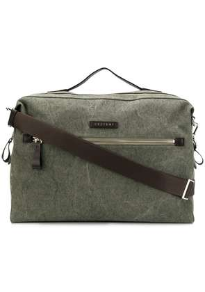Orciani branded duffel bag - Green