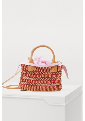 Carrie basket bag with pouch