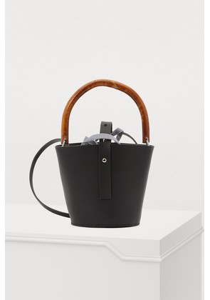 Louise leather bag with pouch
