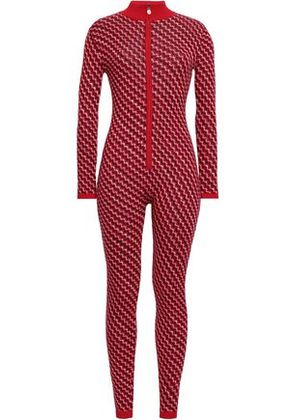 Perfect Moment Woman Merino Wool Jumpsuit Red Size S