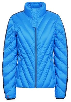 Perfect Moment Woman Quilted Shell Down Jacket Cobalt Blue Size S