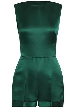Valentino Woman Playsuits Forest Green Size 40