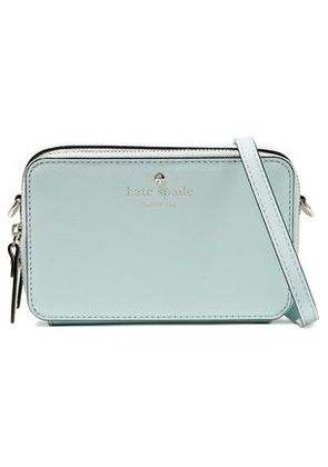 Kate Spade New York Woman Carine Textured-leather Shoulder Bag Mint Size -