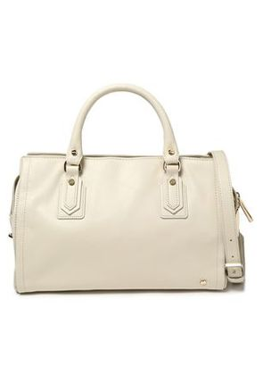 Halston Heritage Woman Leather Shoulder Bag Off-white Size -