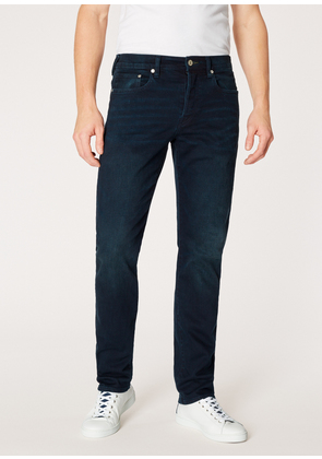 03f305704e9d PS Paul Smith. Men s Tapered-Fit Dark-Wash Jeans.  48. Men s Standard-Fit   Crosshatch Stretch  Navy Over-Dye Jeans
