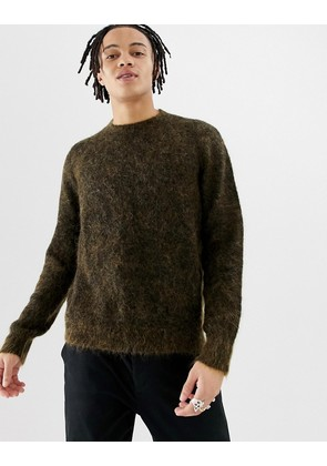 Weekday Harry Wool jumper in yellow