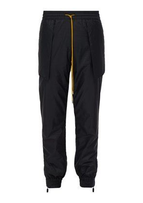 Rhude - Rheversed Shell Track Pants - Mens - Black