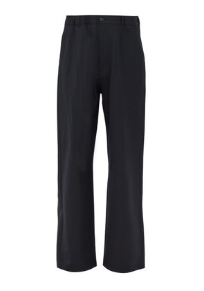 Maison Margiela - Elasticated Belt Tailored Trousers - Mens - Mid Blue