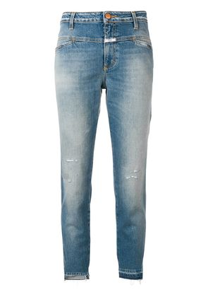 Closed slim-fit cropped jeans - Blue