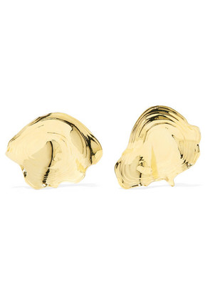 Leigh Miller - Padina Gold-tone Earrings - one size