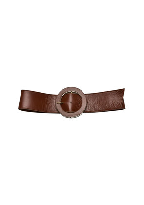 Lilly Sarti Color Round Buckle Belt