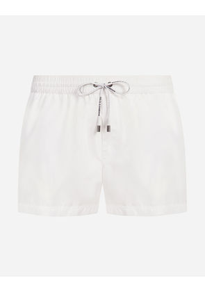 Dolce & Gabbana Beachwear - SHORT SWIMMING TRUNKS WHITE