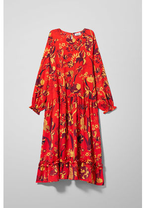 Pavillion Dress - Red