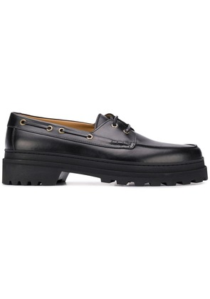 A.P.C. lace-up loafers - Black