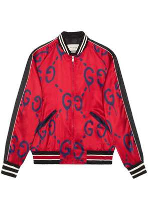 Gucci GucciGhost bomber - Red
