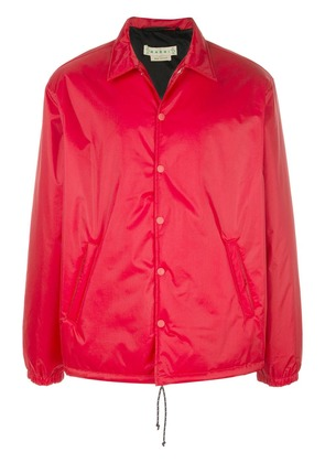 Marni snap-button bomber jacket - Red