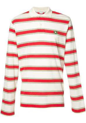 Stella McCartney striped polo shirt - White
