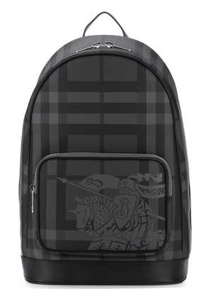 Burberry EKD London Check backpack - Grey