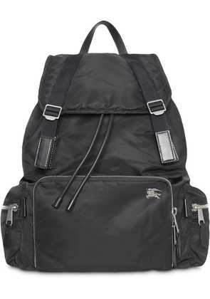 Burberry The Extra Large Rucksack in Aviator Nylon - Black