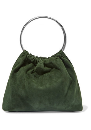 Little Liffner - Ring Small Suede Tote - Green