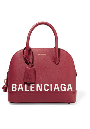 Balenciaga - Ville Printed Textured-leather Tote - one size