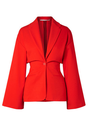 Rosetta Getty - Stretch-ponte Blazer - Red
