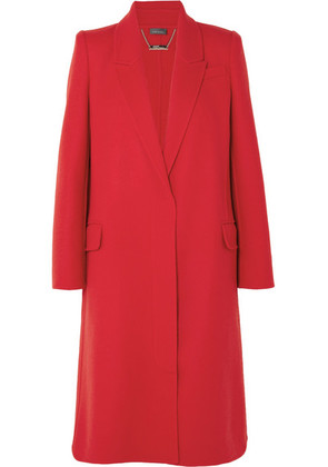 Alexander McQueen - Double-faced Wool And Cashmere-blend Coat - Red